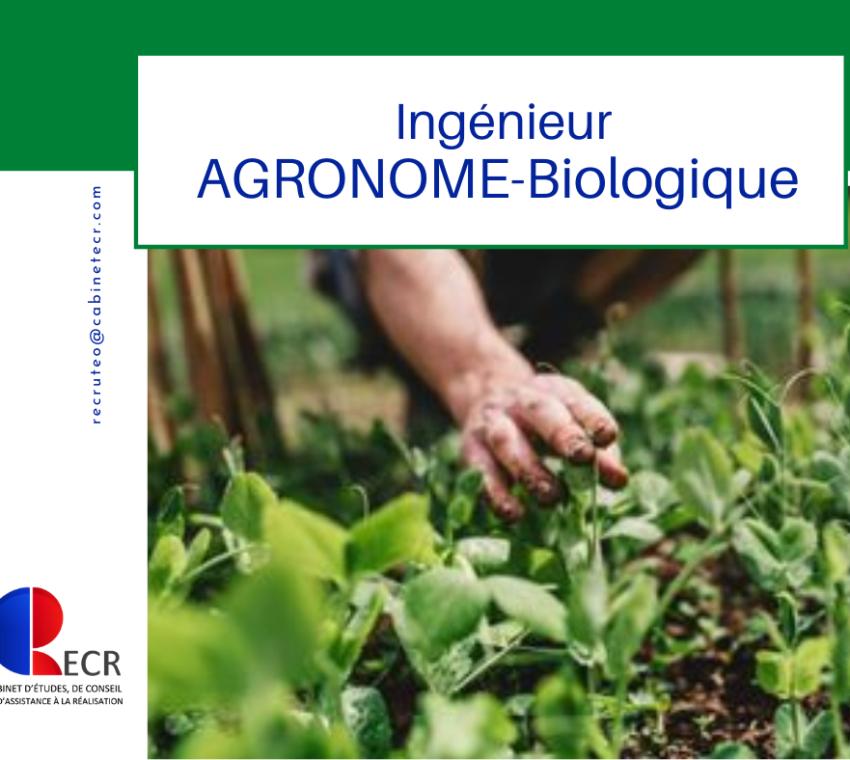 Ingénieur Agronome Biologique