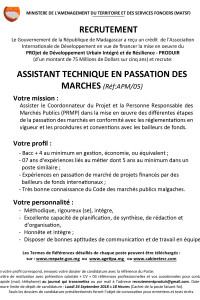 5.ASSISTANT TECHNIQUE PASSATION DE MARCHE APM05